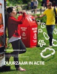 DUURZAAM IN ACTIE - Coca Cola