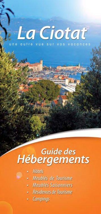 Liste des appartements dans villas de La Ciotat - Office du Tourisme ...