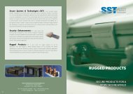 Rugged Products Overview - SST