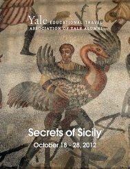 Secrets of Sicily - Yale University