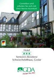 Hotel Senioren-Residenz Schwiecheldthaus, Goslar