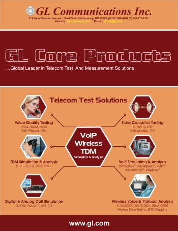 GL Communications Inc.