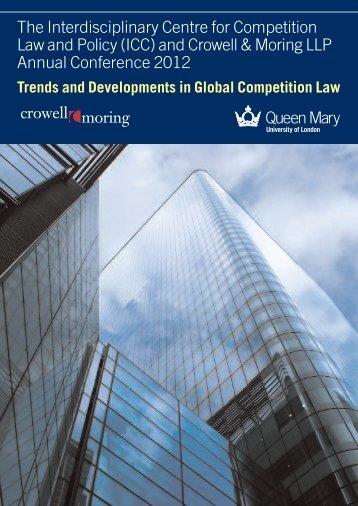 The Interdisciplinary Centre for Competition Law ... - E.CA Economics