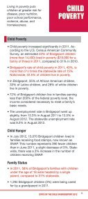state of the child in bridgeport - Bridgeport Child Advocacy Coalition - Page 7