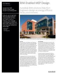 BIM-Enabled MEP Design - Autodesk