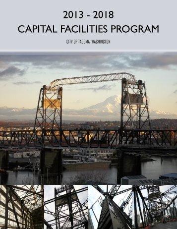 2013 - 2018 CAPITAL FACILITIES PROGRAM - City of Tacoma
