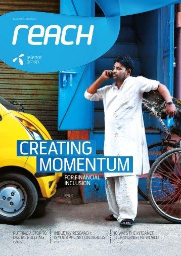 Download Reach magazine now! - Telenor
