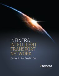 Infinera Intelligent Transport Network
