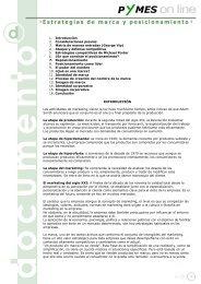 Estrategías de marca y posicionamiento < - Pymes Online