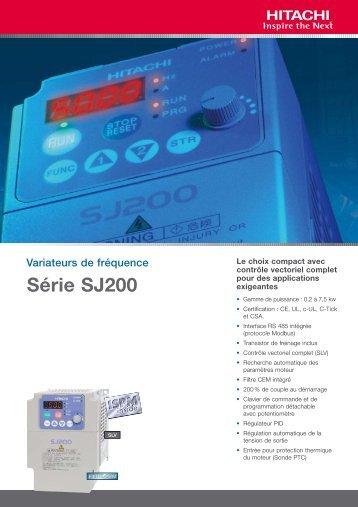 Plaquette commerciale - Variateur-frequence.com