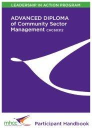 Participant Handbook - Mental Health Coordinating Council