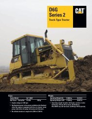 Specalog for D6G Series 2 Track-Type Tractor, AEHQ5715-01