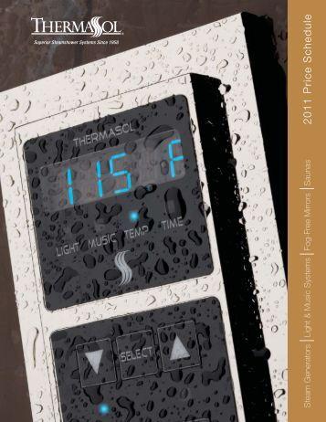 Thermasol Catalog - Sauna Supplies
