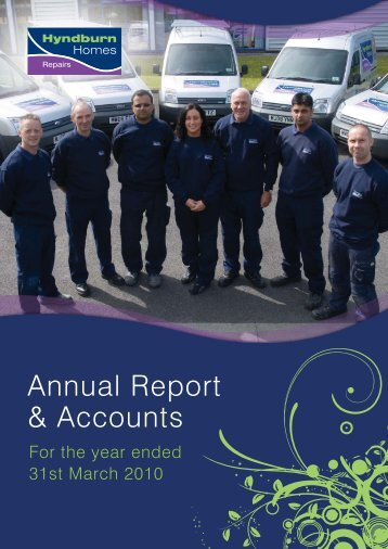 Annual Accounts 2010 - Contour Homes