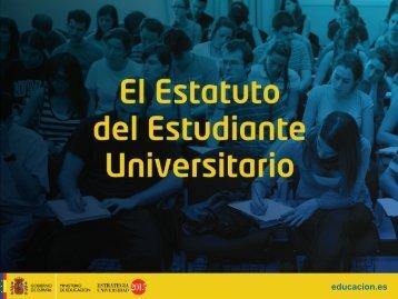 Estatuto del Estudiante Universitarios