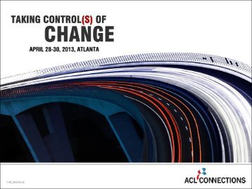 ACL Analytics Exchange 4 - Acl.com
