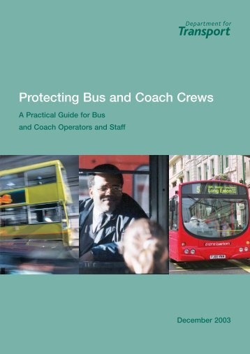 Protecting Bus and Coach Crews - Keep Britain Tidy