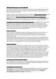 Wichtige Regelungen zum Schulbetrieb - Gymnasium Marktoberdorf