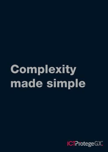 Complexity made simple