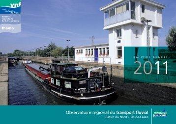 Observatoire 2011 - service navigation Nord-Pas de Calais