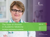 The State of Women in Academic Medicine 2013-2014 FINAL