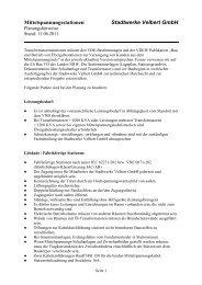 Mittelspannungsstationen - Stadtwerke Velbert