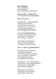 Verse zur Rutsche von Pfarrer i. R. Helmut Oeß