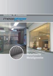 Motorisierte Metallgewebe
