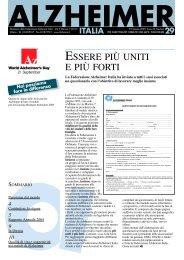 Notiziario 29 - Alzheimer Italia