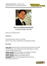 Dipl.-Ing. Wolfgang Anzengruber