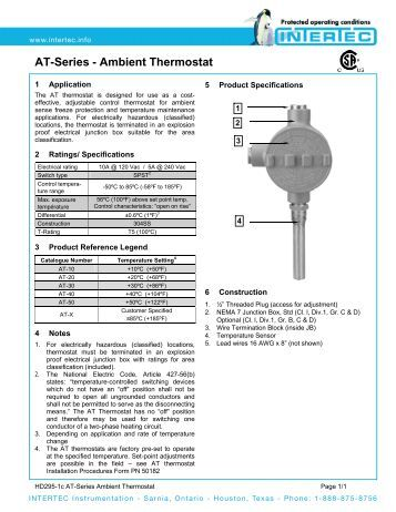 heating element thermostatic head single ambient instal at series ambient thermostat