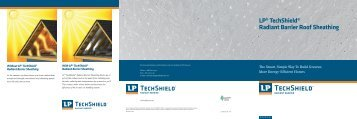 LP® TechShield® Radiant Barrier Roof Sheathing - Huttig Building ...
