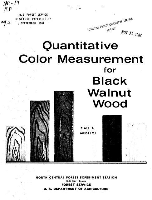 Quantitative Color Measurement For Black Walnut Wood Woodweb Woodweb.com ranks # 51,838 in usa. yumpu