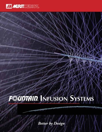 INFUSION SYSTEMS - Merit Medical