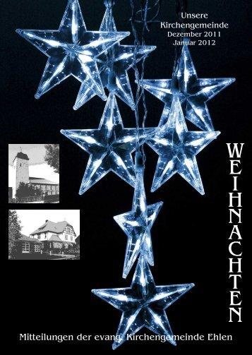 Weihnachten 2011 - Evangelische Kirche Ehlen
