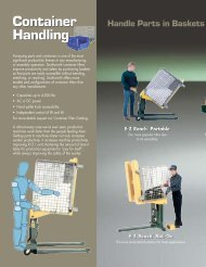 Container Handling - Marsh Micro Systems
