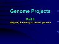 Mapping Genomes - 高雄醫學大學