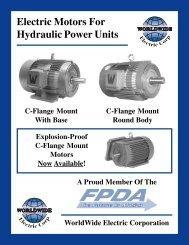 ELECTRIC MOTORS FOR HYDRAULIC POWER ... - Royal Hydraulics
