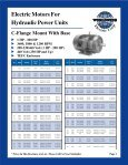 ELECTRIC MOTORS FOR HYDRAULIC POWER ... - Royal Hydraulics - Page 2