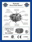 ELECTRIC MOTORS FOR HYDRAULIC POWER ... - Royal Hydraulics - Page 3