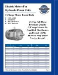 ELECTRIC MOTORS FOR HYDRAULIC POWER ... - Royal Hydraulics - Page 4