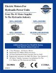 ELECTRIC MOTORS FOR HYDRAULIC POWER ... - Royal Hydraulics - Page 6