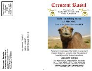 October 2011 Rasul - crescent shriners