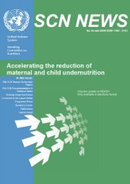 Accelerating the reduction of maternal and child ... - United Nations