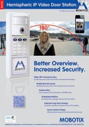 Mobotix T24 Series Brochure - Use-IP