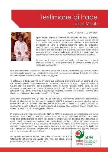 Iqbal Masih - Caritas Roma