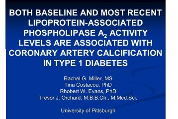 Lp-PLA - American Diabetes Association