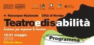 Pdf Teatro e disabilità - Rovigo - Azienda ULSS 18