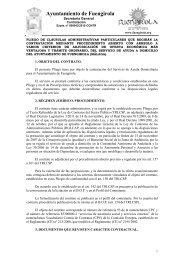 01 pliego servicio ayuda a domicilio - Ayuntamiento de Fuengirola