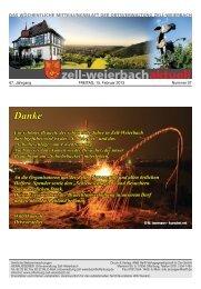 Mitteilungsblatt kw 07-2013.pdf - Zell-Weierbach